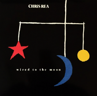 Chris Rea - Wired To The Moon (LP) (VG-/VG)